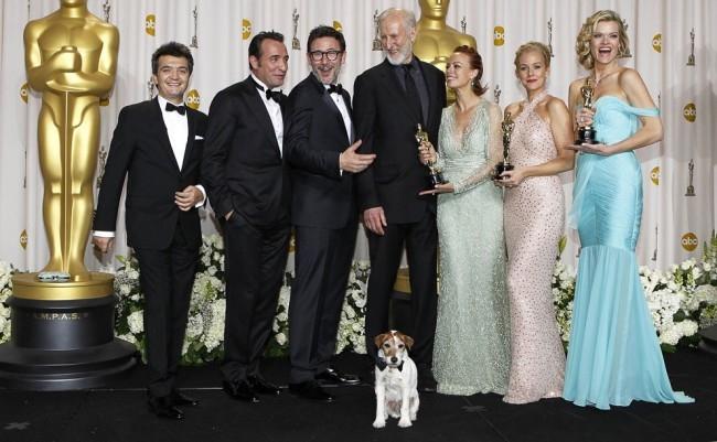 Актеры и команда фильма «Артист» — триумфатора Оскара 2012