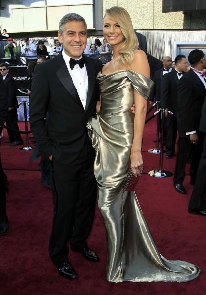 Джордж Клуни со своей 32-летней подругой, моделью Стэйси Кейблер