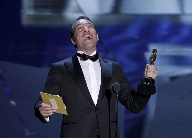 Лучшая мужская роль 2012 года — Жан Дюжарден из фильма «Артист». Французский комик и актер
