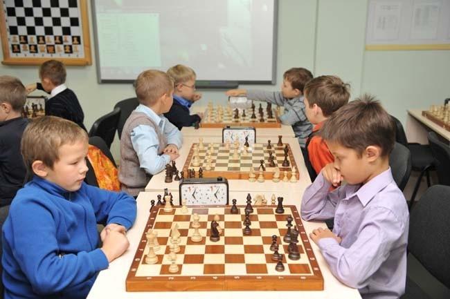 Детские шахматные баталии