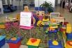 Для самых маленьких посетителей оборудован игровой уголок. Имеется также пеленальный стол. Клиенты имеют возможность воспользоваться услугами буфета, который расположен в зале.