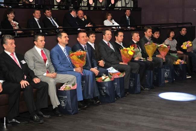 Сильнейшие гроссмейстеры - учатсники XII турнира