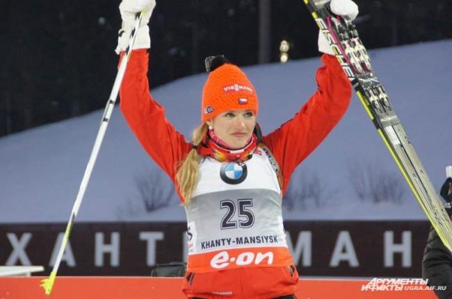 Победительница из Чехии
