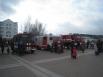 На центральной площади города развернулась выставка пожарно-технического вооружения Ханты-Мансийского гарнизона пожарной охраны 7-го отряда федеральной противопожарной службы по автономному округу.