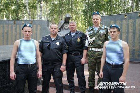 Поколения ветеранов-десантников