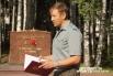 Майор запаса ВДВ - Олег Кандаков с приветственным словом к присутствующим