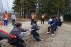 Всех участников отличал спортивный азарт, который передавался и болельщикам.