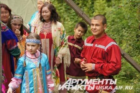 Ханты и манси дали совместный концерт