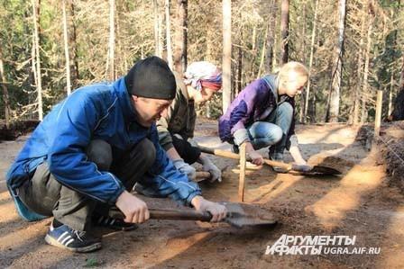 Изучение археологического пространства по миллиметру