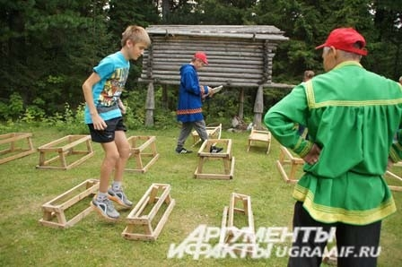 В этот день в Торум Маа были организованы этноспортивные соревнования