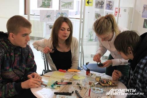 Любители техники провели время в конструкторском бюро «КБ В.И. Муравленко»
