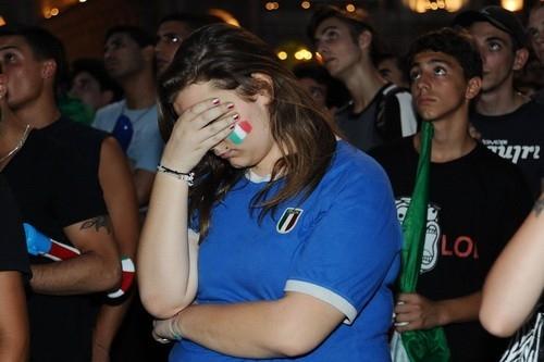 Болельщики сборной Италии шокированы результатом