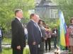 Глава города Василий Филипенко также присутствовал на линейке