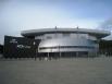 Культурно-развлекательный комплекс «Арена Югра» был введен в 2008 году. Огромный спорткомплекс, где проходят домашние игры ХК «Югра» выполнен в форме цилиндра.