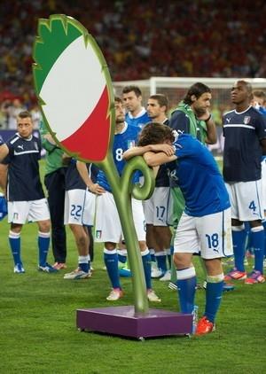Сборная Италии тяжело переживает сокрушительный проигрыш