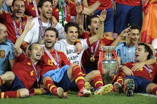 Чемпионы Евро-2012