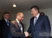 Янукович и председатель Европейского парламента Мартин Шульц