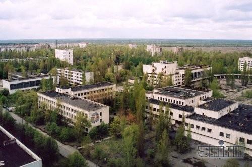 Панорама г. Припять