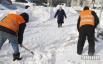 Уборка снега в столице