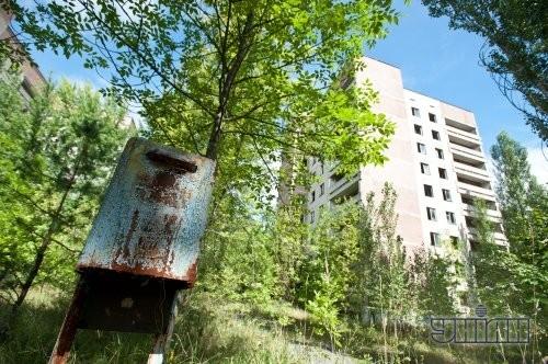 Почтовый ящик в Припяти