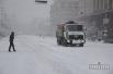 Снегопад в Киев
