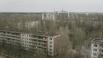 Оставленный жителями после катастрофы на Чернобыльской АЭС город