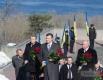 Слева направо: губернатор Черкасской обл. Сергей Тулуб, Президент Украины Виктор Янукович и мэр Черкасс Сергей Одарич