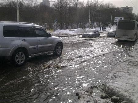 Потоп в Голосеевском районе