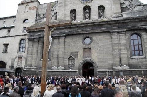 Пасхальное богослужение накануне празднования Воскресения Христово во Львове