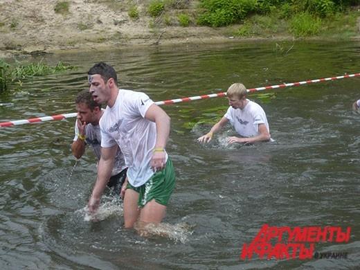 Среди участников соревнований было много легкоатлетов и триатлонистов