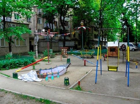 Двор в г. Одесса