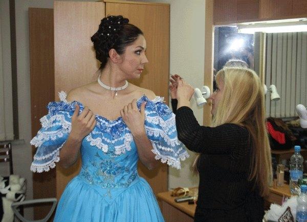 Амалия Гогешвили в роли Татьяны.