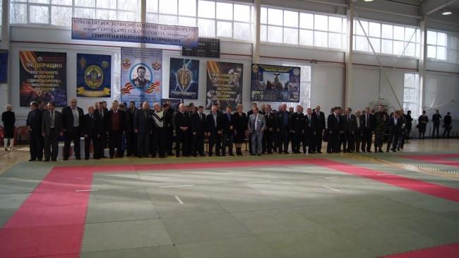 Почетные гости соревнований