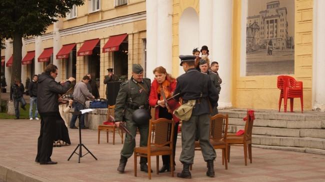 Реконструкция оккупации Смоленска