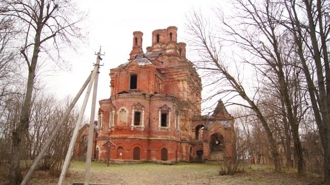 Двухъярусная церковь Иоанна Предтечи, 19 век