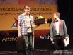 Призер фестиваля из Томска у микрофона