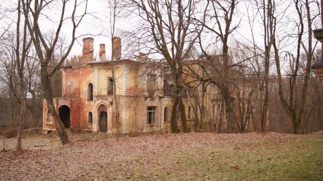 Главный усадебный дом, в советские годы был детским противотуберкулезным диспансером