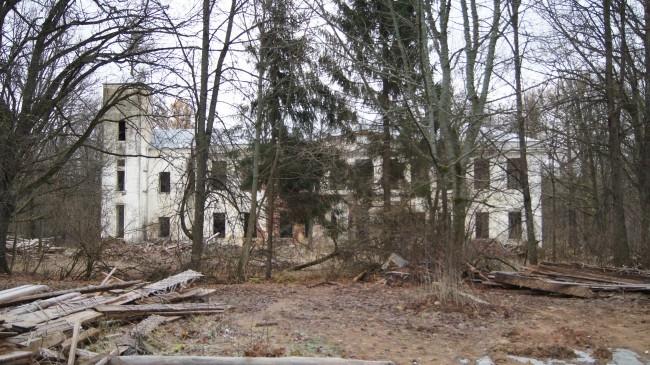 Внешний вид главного усадебного дома