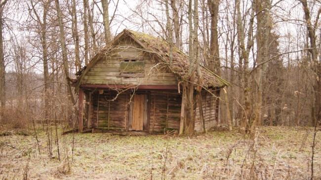 Ветхий домик смотрителя