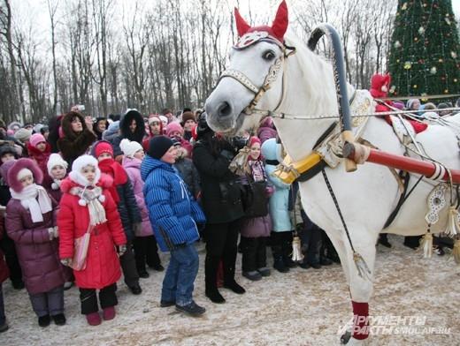Открытие главной елки в Смоленске