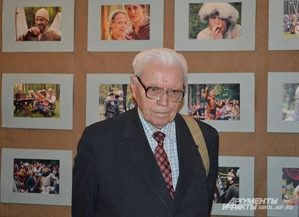Евгений Шмидт, доктор исторических наук, профессор СмолГУ