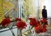 Живые цветы - в память о павших бойцах