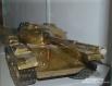 Модель Т-55 с «подбитой» гусеницей