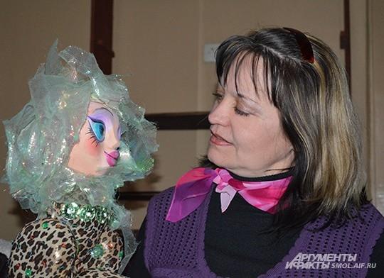 Актриса театра кукол Валентина Лебедева в профессии уже около 30 лет
