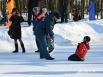 Спасение провалившегося под лед при помощи «конца Александрова»