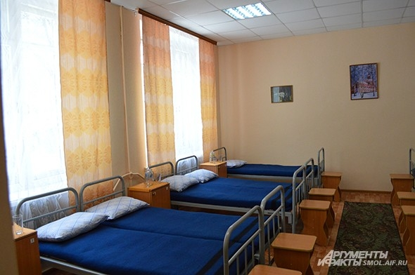 Здесь призывники могут переночевать или отдохнуть