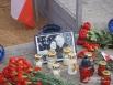 Фотография Леха и Марии Качиньских, погибших три года назад