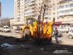 Специальная машина для пересадки деревьев вместе с корнями