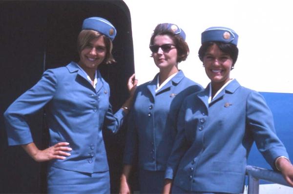 Американские стюардессы, 1967 год.