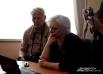 Светлана Сокерина следит за ходом презентации